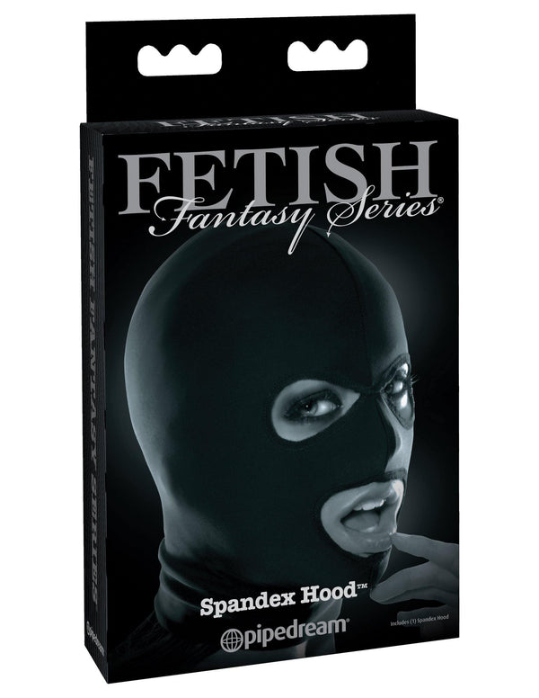 Fetish Fantasy Series - Spandex Hood Open Eyes & Mouth