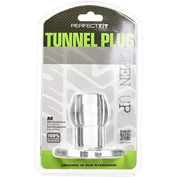 Perfect Fit Tunnel Plug Medium - Clear - Circus of Books