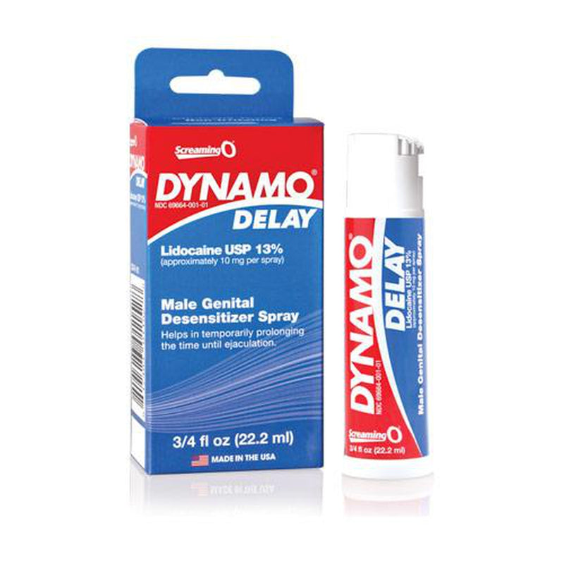 Screaming O - Dynamo - Delay Lidocaine Spray .75oz
