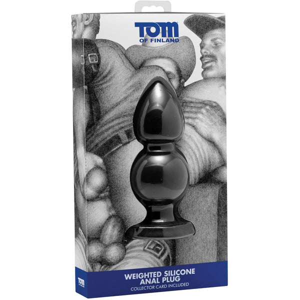 Tom of Finland - Weighted Silicone Anal Plug - Circus of Books