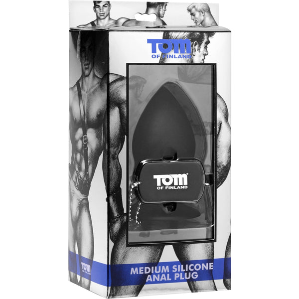 Tom of Finland - Medium Silicone Anal Plug - Circus of Books