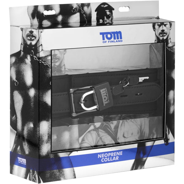 Tom of Finland - Neoprene Locking Collar - Circus of Books