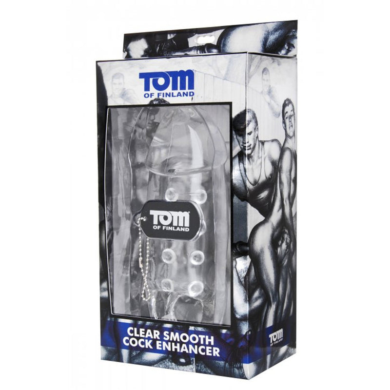 Tom of Finland - Smooth Cock Enhancer - Clear - Circus of Books