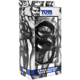 Tom of Finland - 3 Piece Silicone Cock Ring Set - Black - Circus of Books