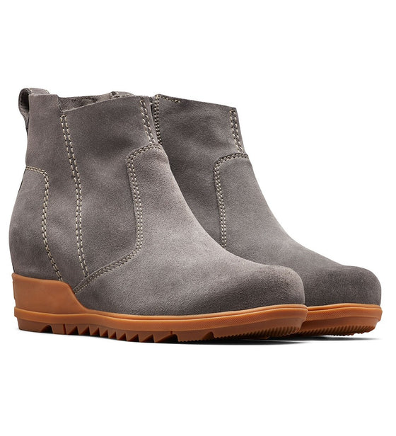 Sorel Waterproof Wedge Evie Bootie in Quarry