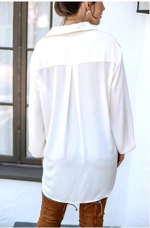 Jersey Knit Jumpsuit with Chiffon Overlay in Red