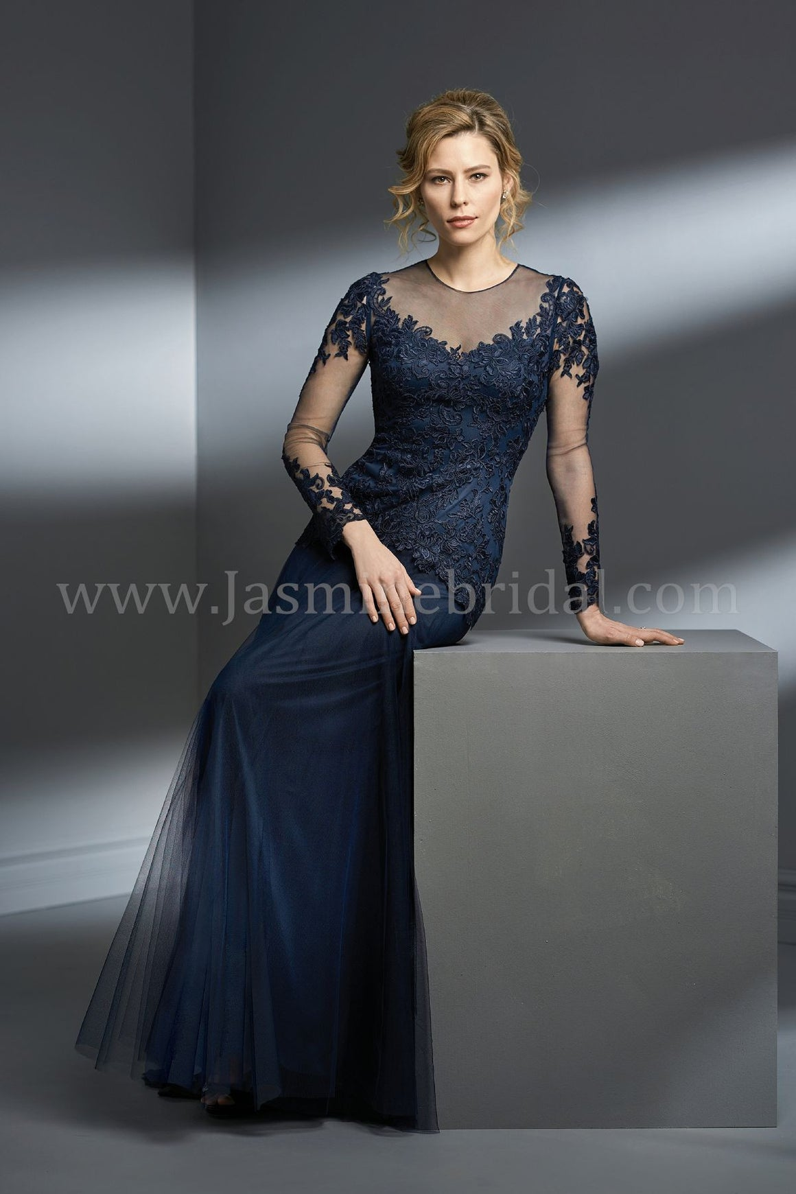 Jade Couture Netting Lace with Stretch Lining (Available in 18 colors) K198054