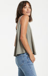 "Z Supply ""Heather"" Organic Cotton Swing Tank 