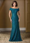 Jade Couture K178016 Off The Shoulder Boat Lace Gown