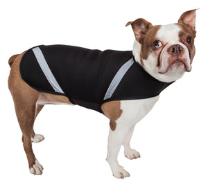 Pet Life ® 'Extreme Neoprene' Multi-Purpose Protective and Reflective Rash Guard Dog Coat