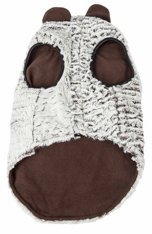 Pet Life ®  Luxe 'Purrlage' Pelage Designer Fur Dog Coat Jacket
