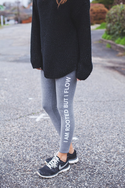 I Am Rooted Leggings