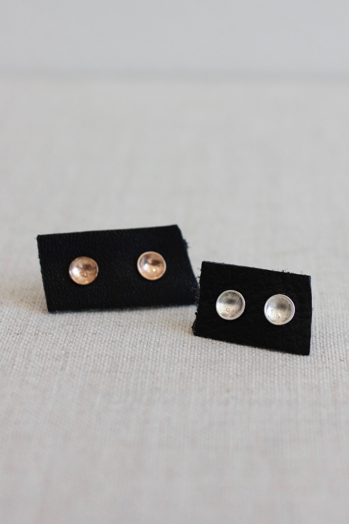CLP Concave Dot Stud Earrings
