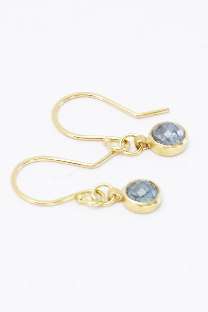 SARAH MCGUIRE Montana Sapphire Earrings - Habits Jackson Hole