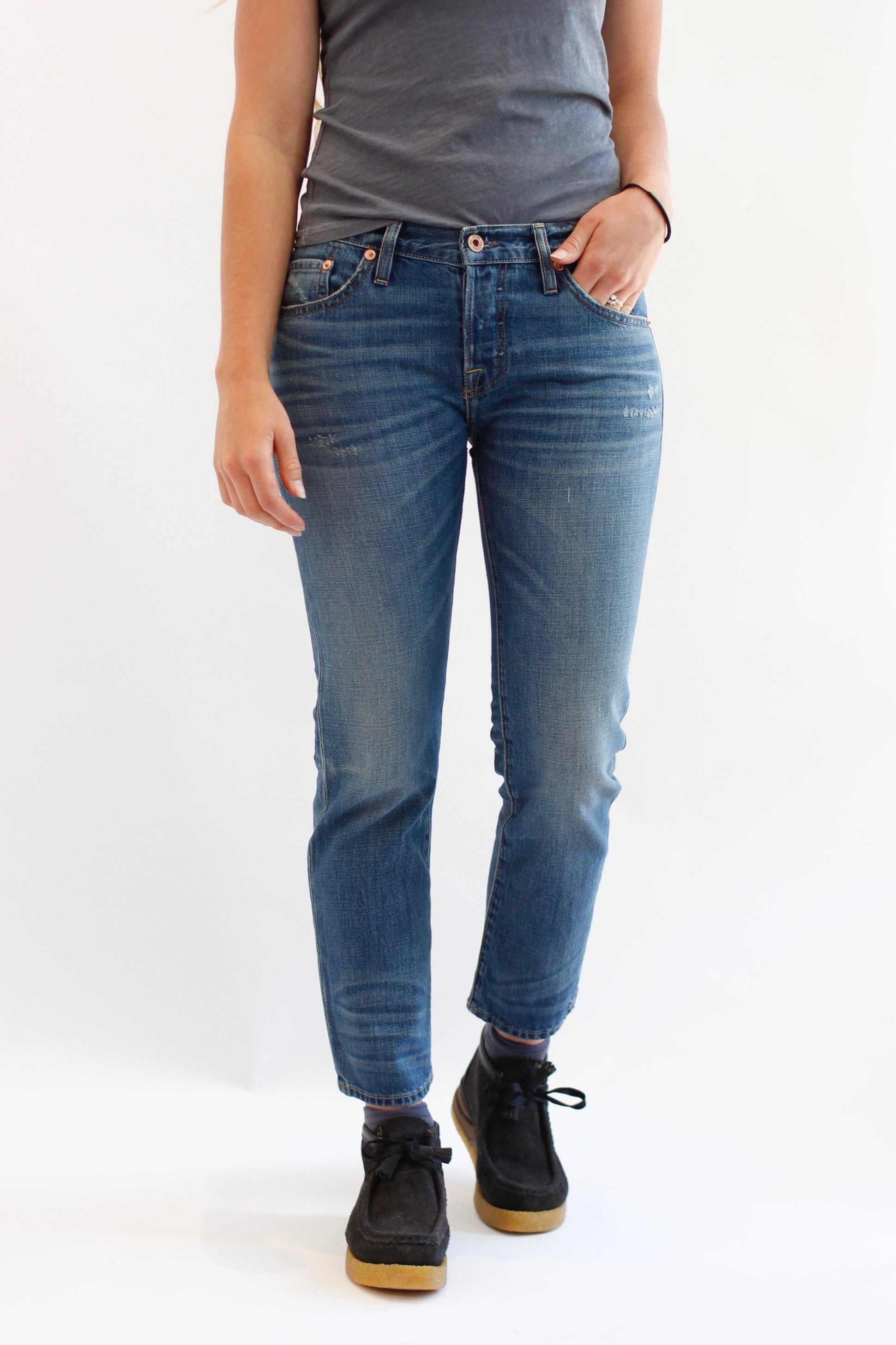 NSF Beck jean in Ryger wash
