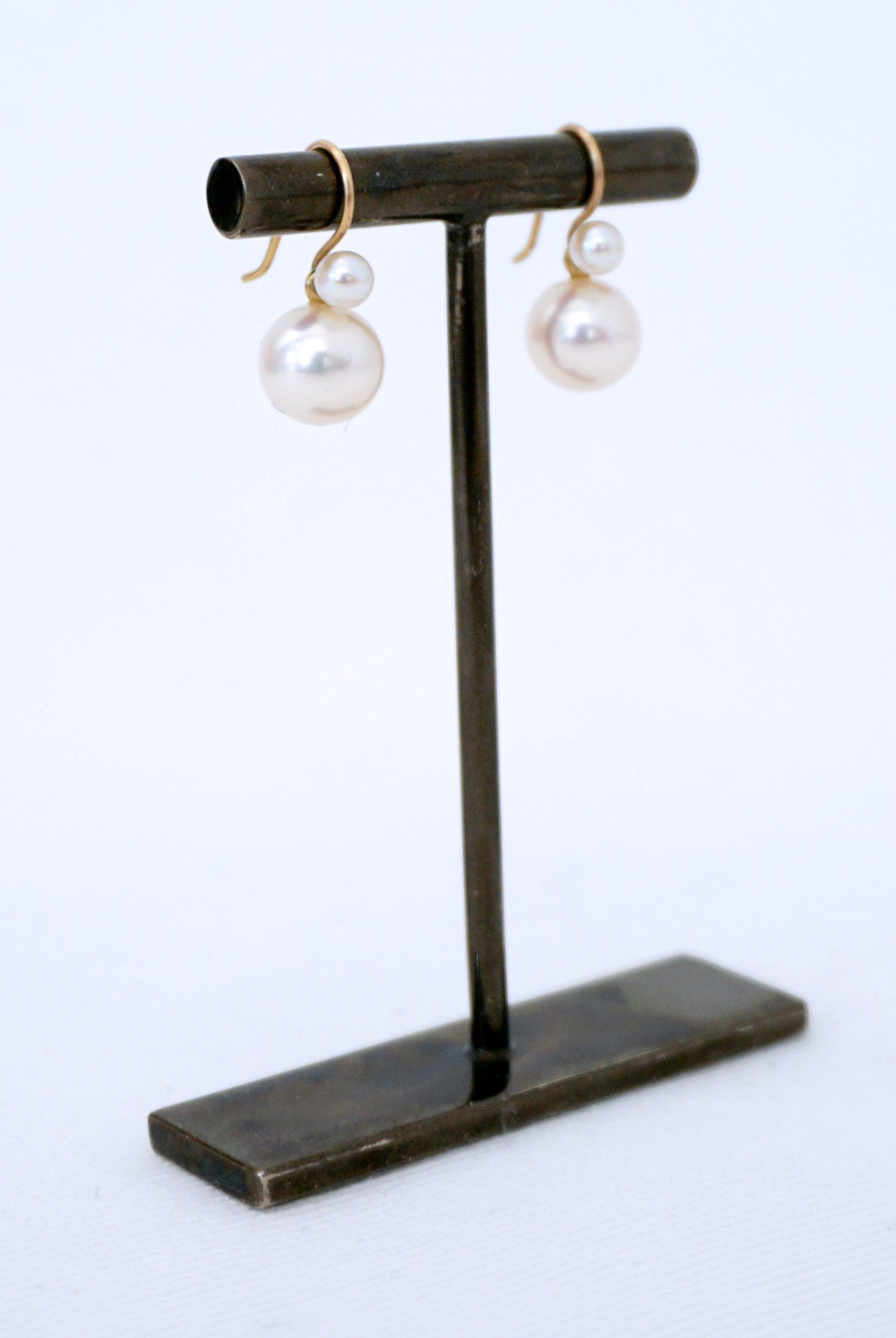 DAN-YELL Cultured Pearl Chan earring