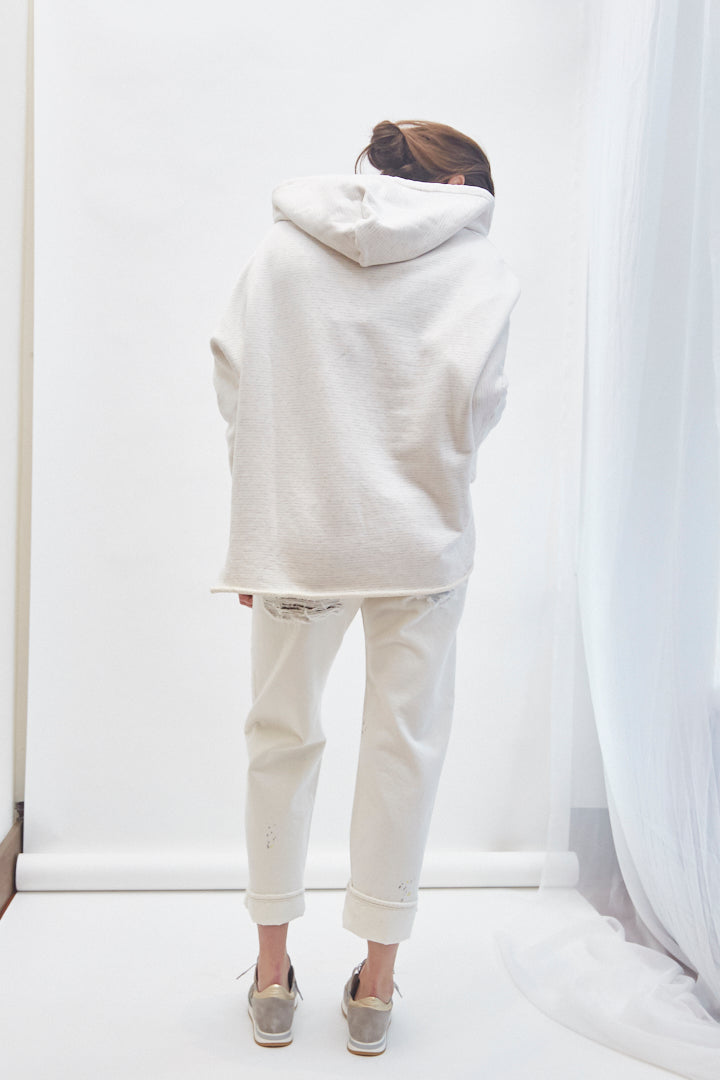 TEE LAB Oversized Pullover Hoodie