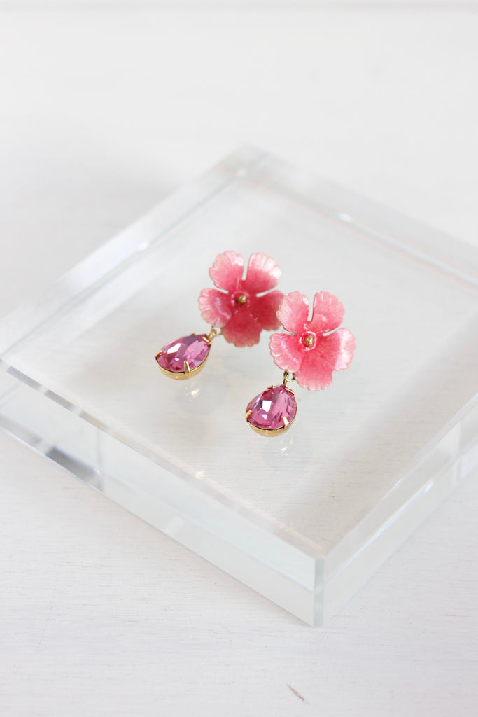 Jennifer Behr floral earrings