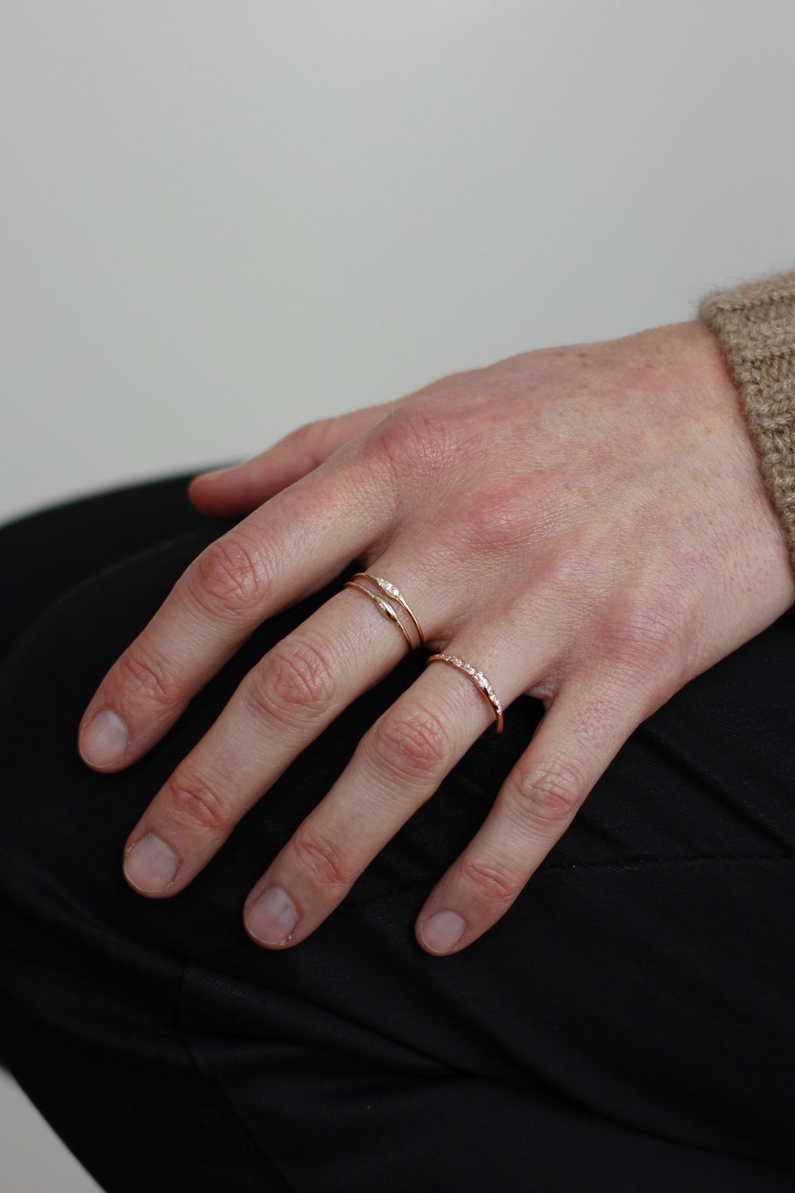 Hortense 14k gold ring