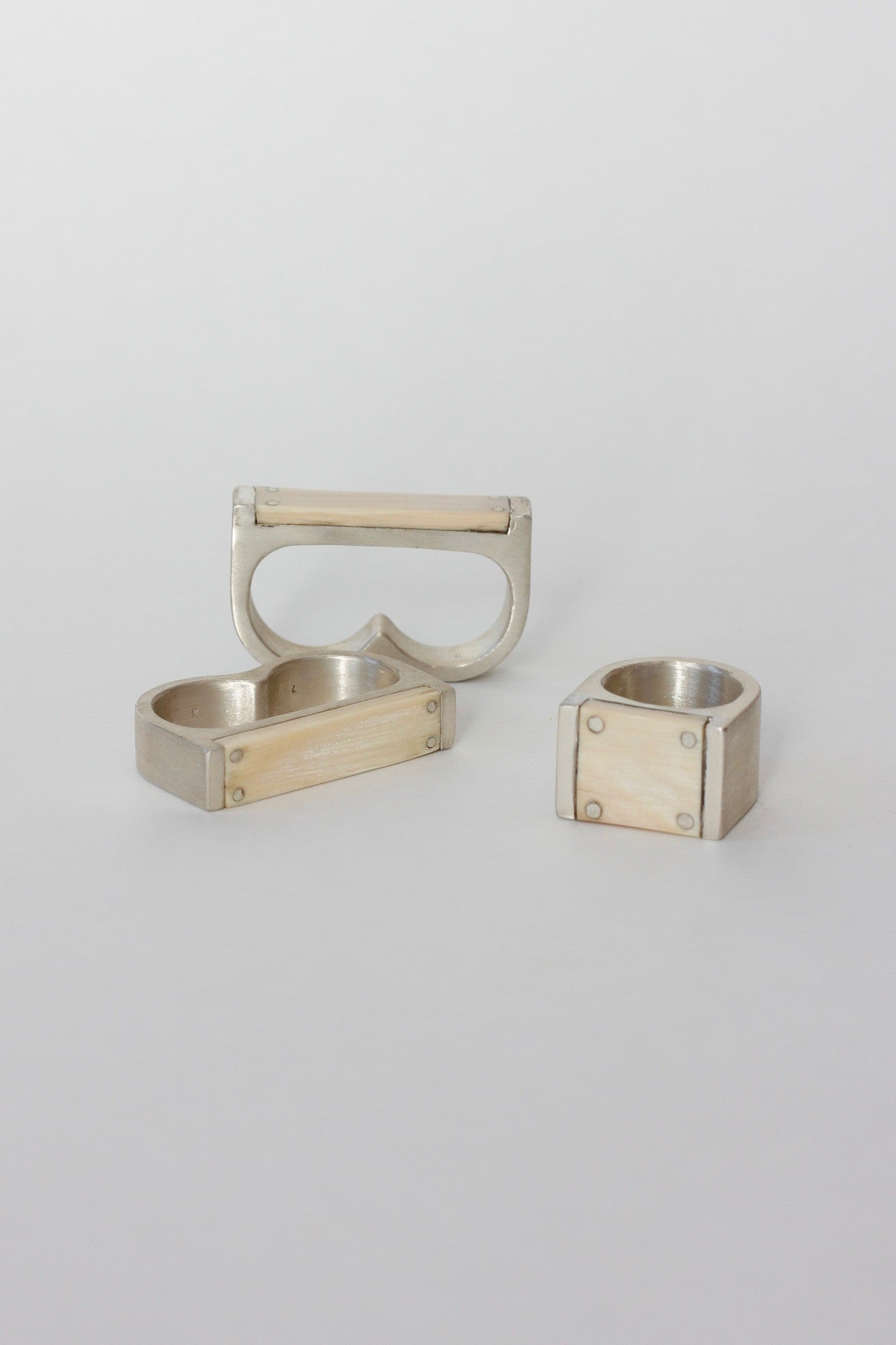 PARTS OF FOUR Double Plate RIng 9mm - Habits Jackson Hole