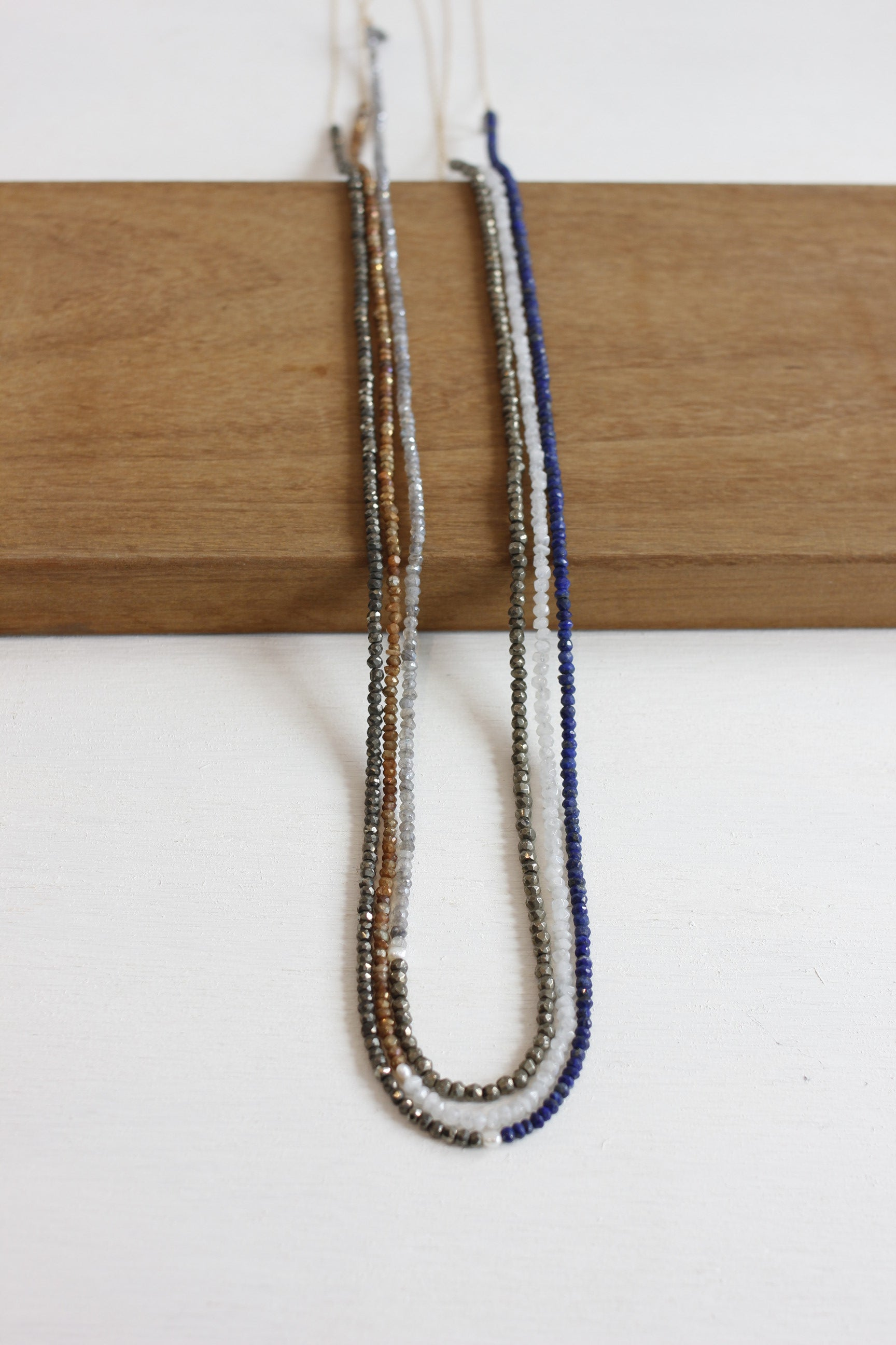 CLP chain and gemstone combo necklace - Habits Jackson Hole