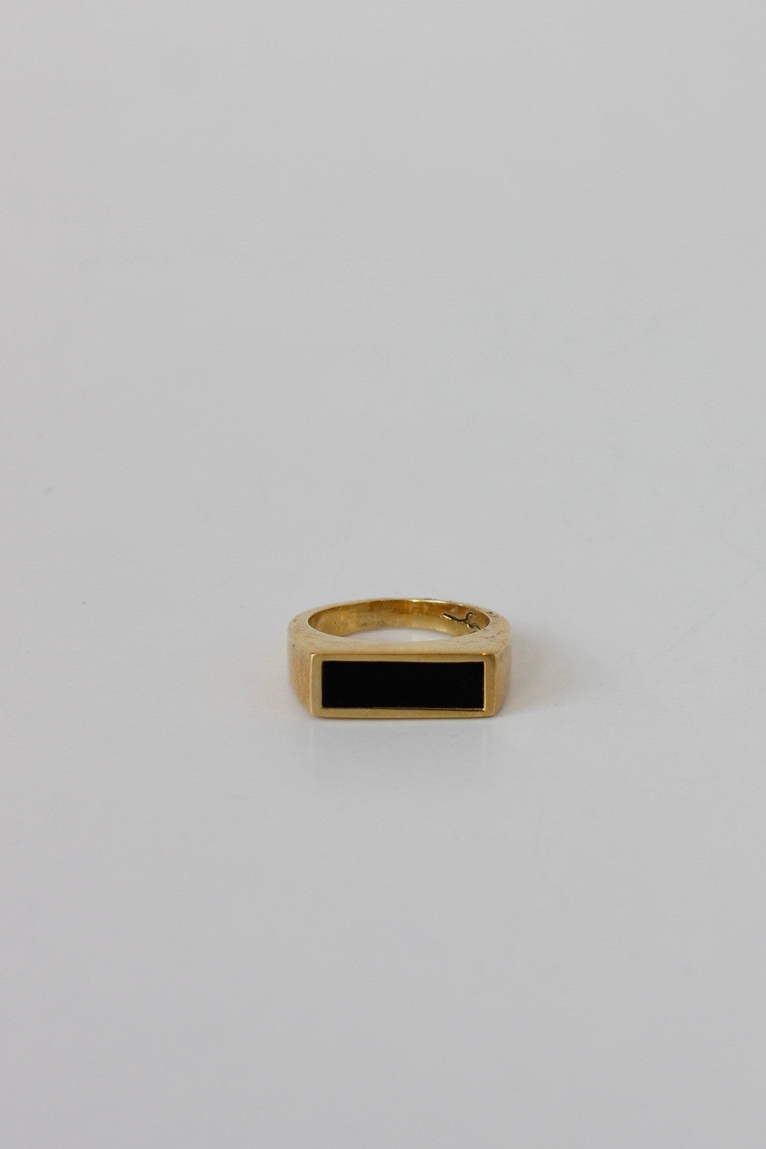 LEGIER Small Signet Ring - Habits Jackson Hole