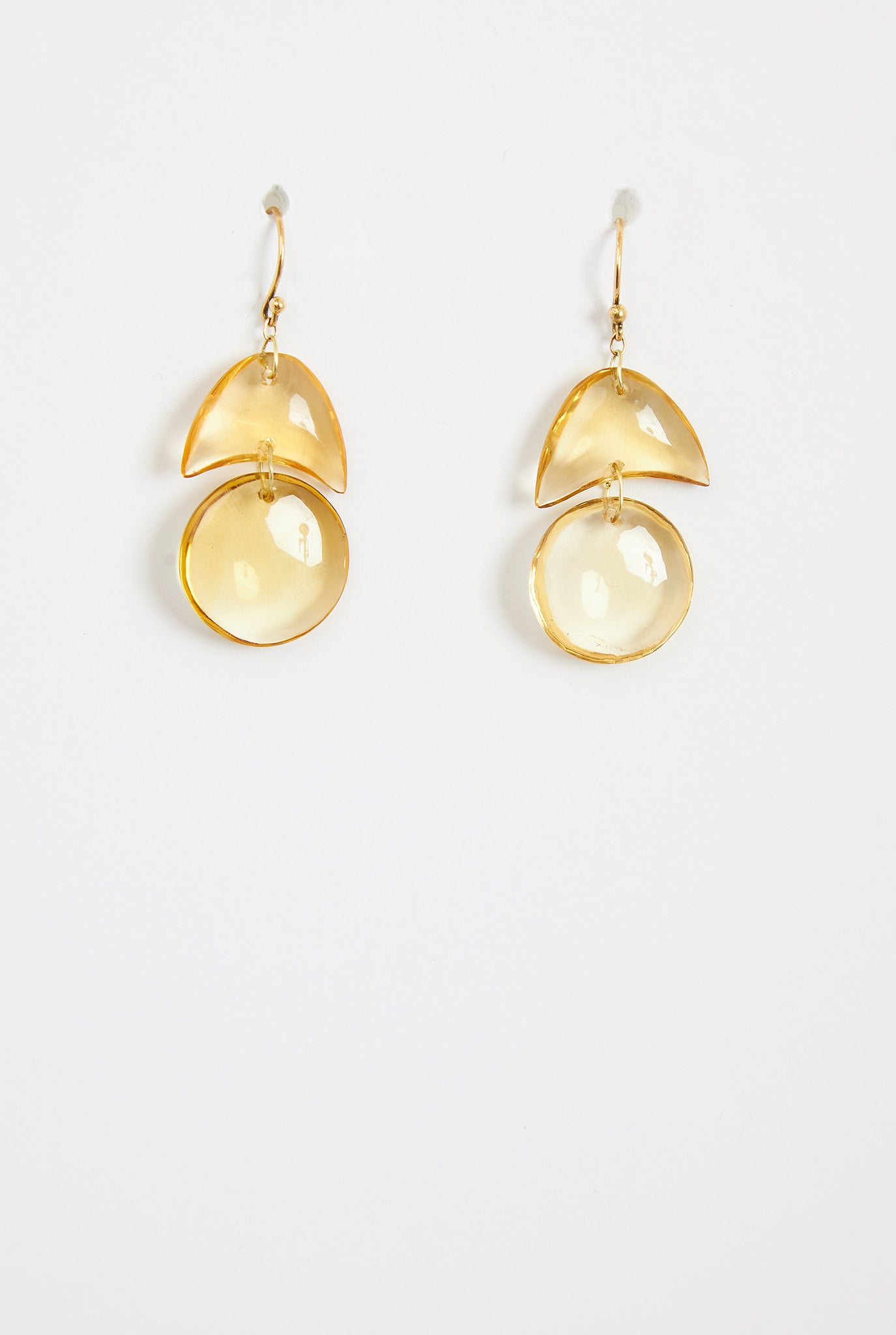 TEN THOUSAND THINGS Citrine Tiny Arps Earrings