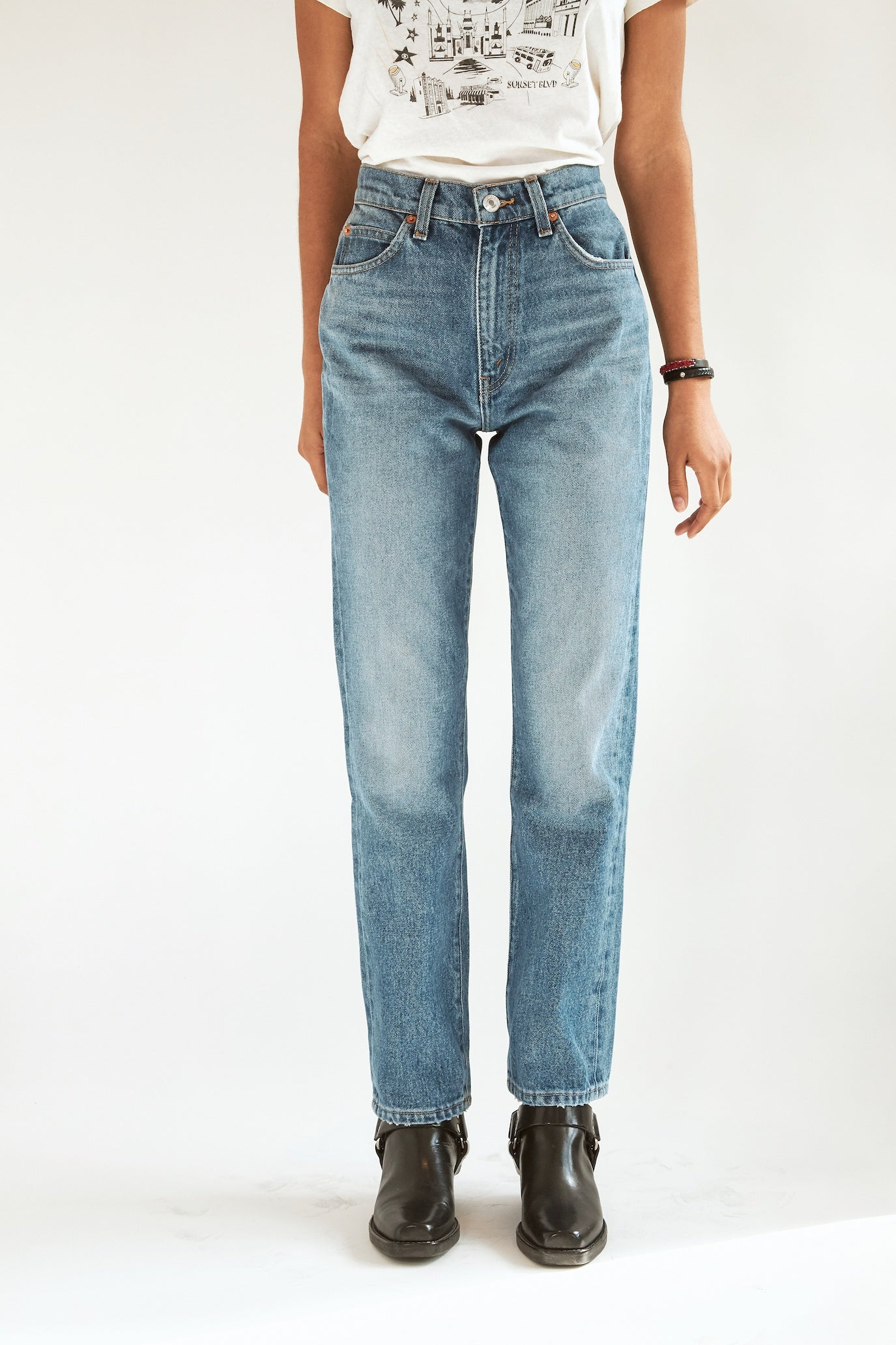 RE/DONE 70s Straight Jean
