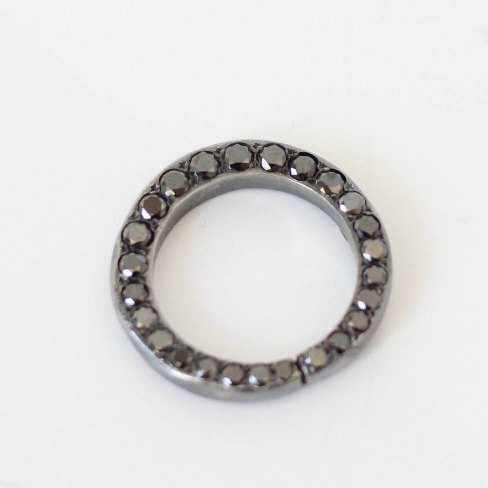 ROSA MARIA Ester Black Diamond Ring