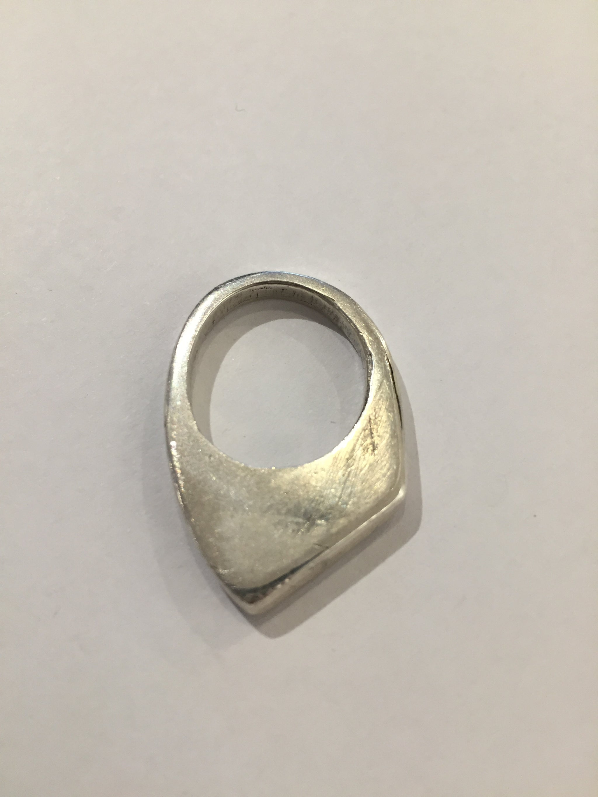 India Wysong Pointed Stacker Ring in Sterling