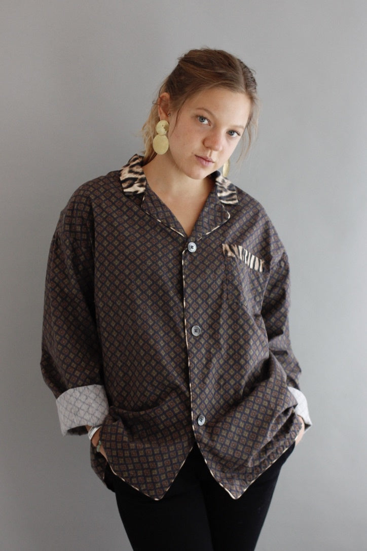 R13 Pajama Top - Habits Jackson Hole