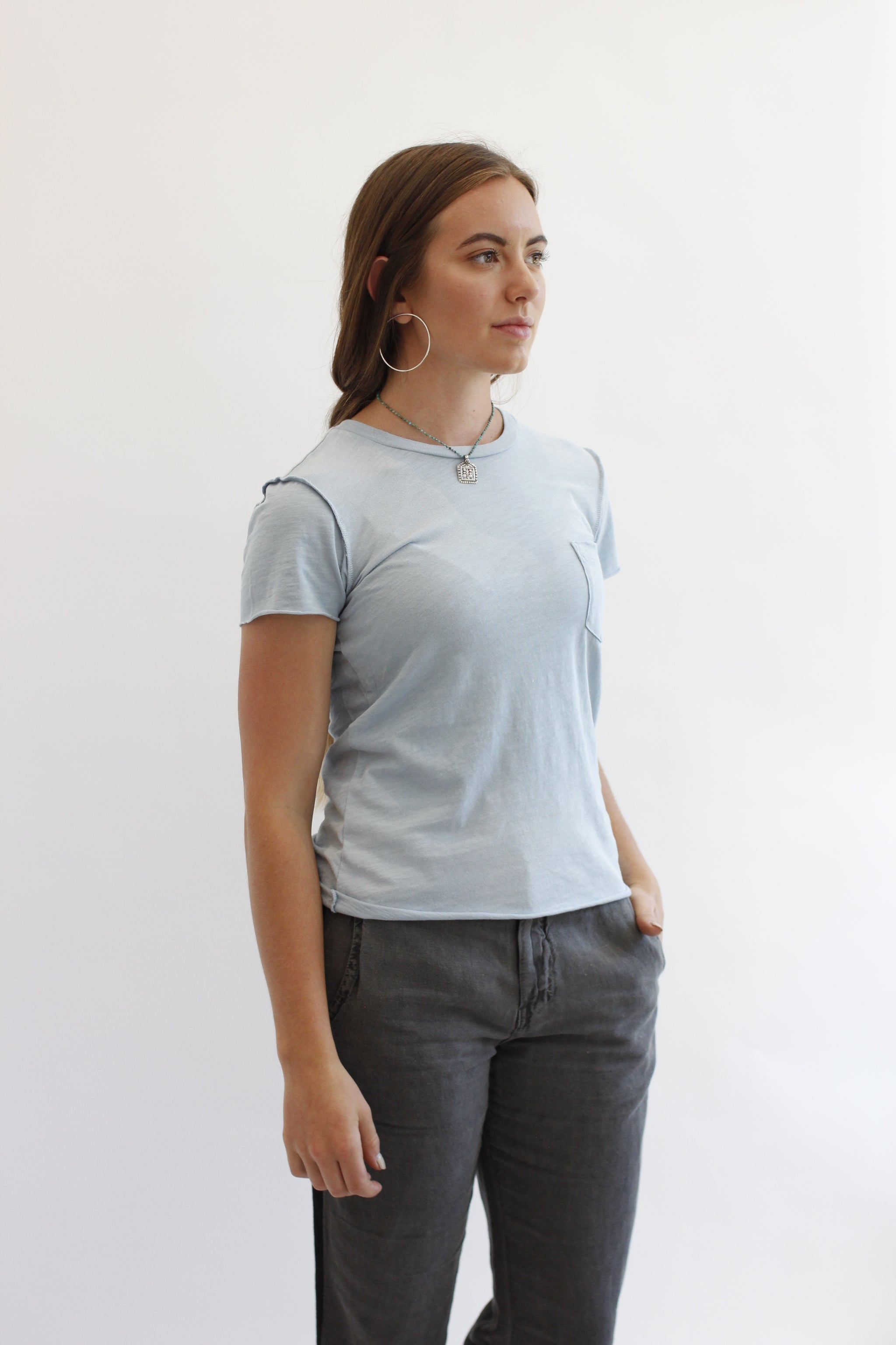 NSF Lexie Pocket Tee - Habits Jackson Hole