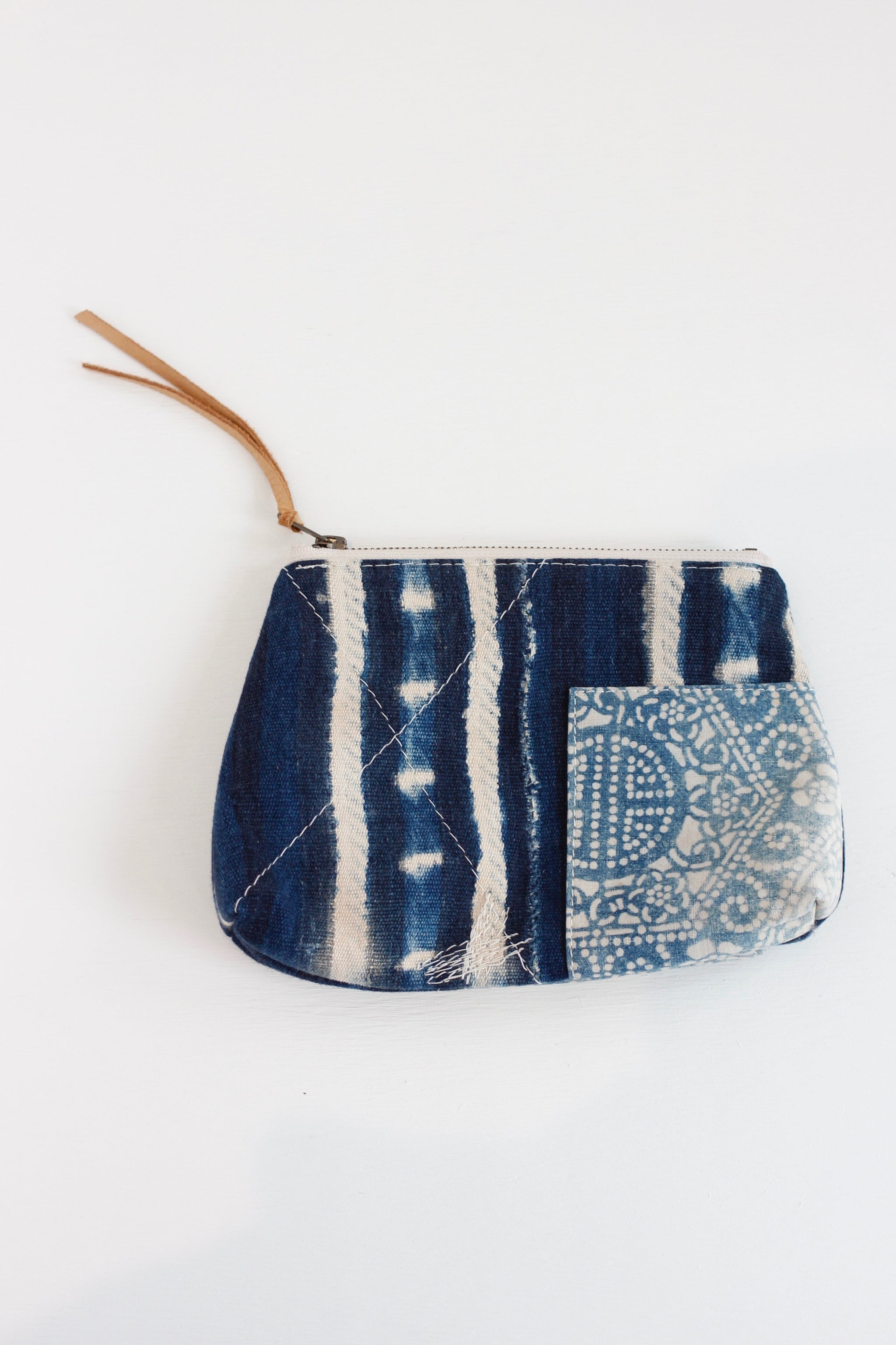TOTEM SALVAGED Indigo Pouch