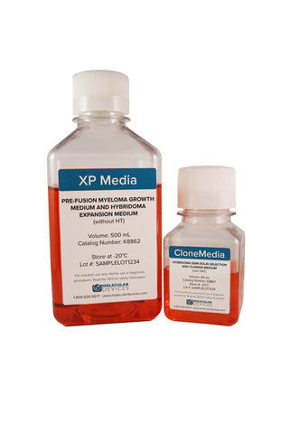 XP Media and CloneMedia Complete Kit for Mouse Hybridoma Generation