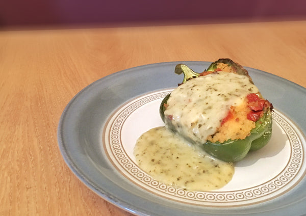 STARTER - FOR 2 - MEDITERRANEAN STUFFED PEPPERS