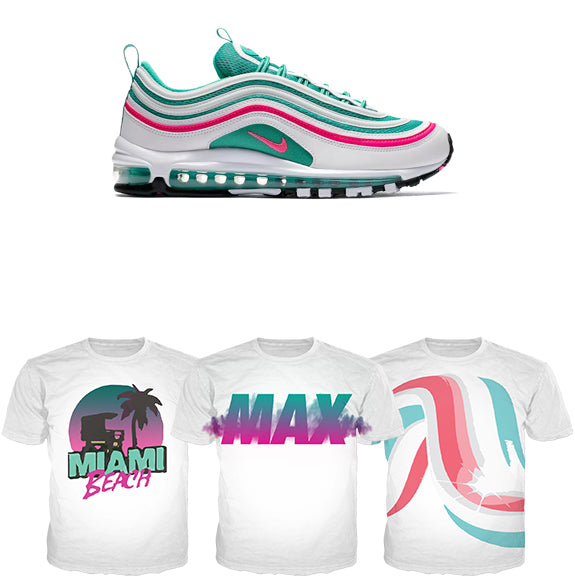 air max 97 south beach hat