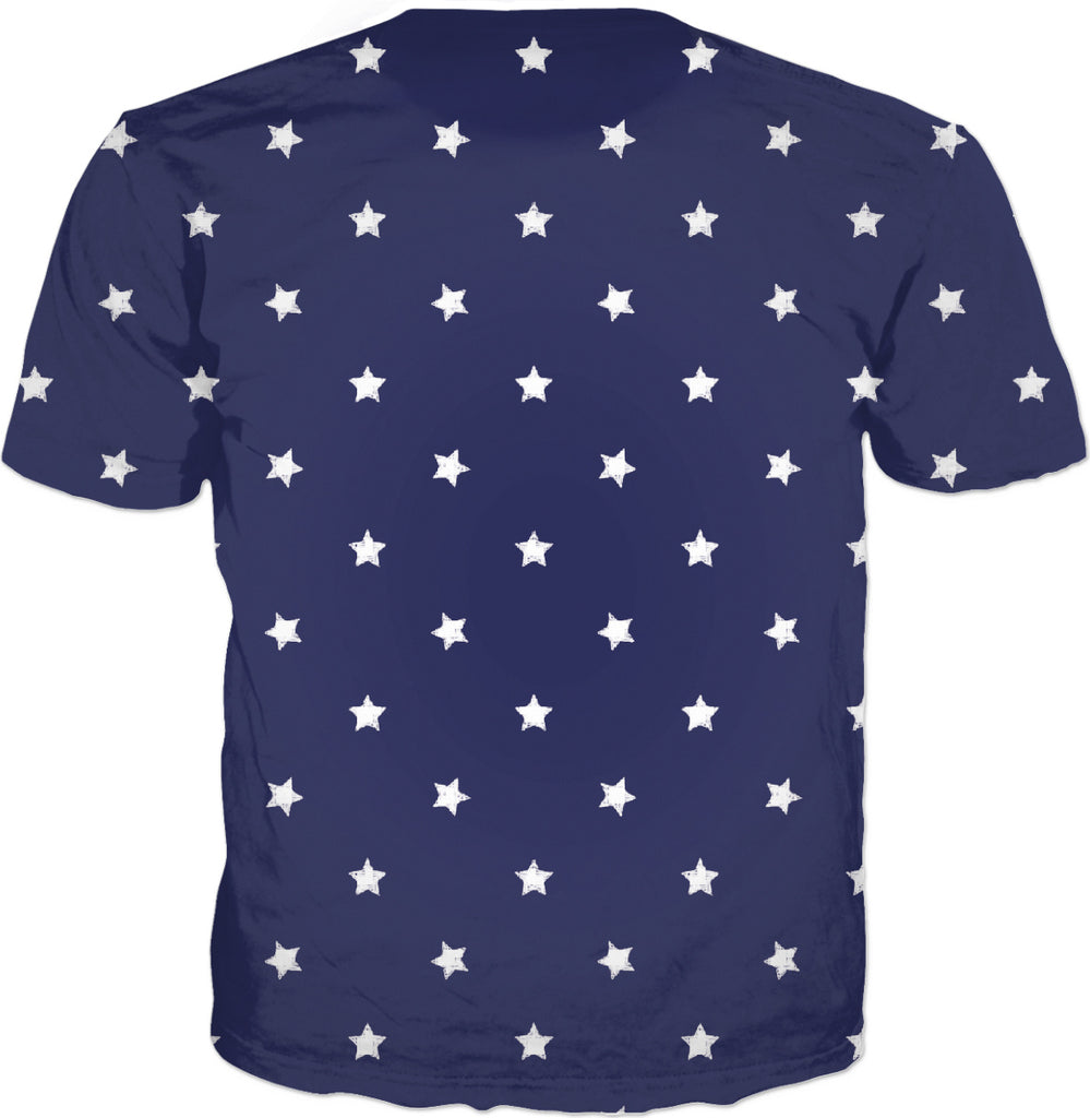 Midnight Navy 11 White Stars