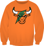Gatorade 6 Bolt Bull ORANGE SWEATSHIRT SX