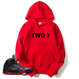 RED TWO3 HOODIE