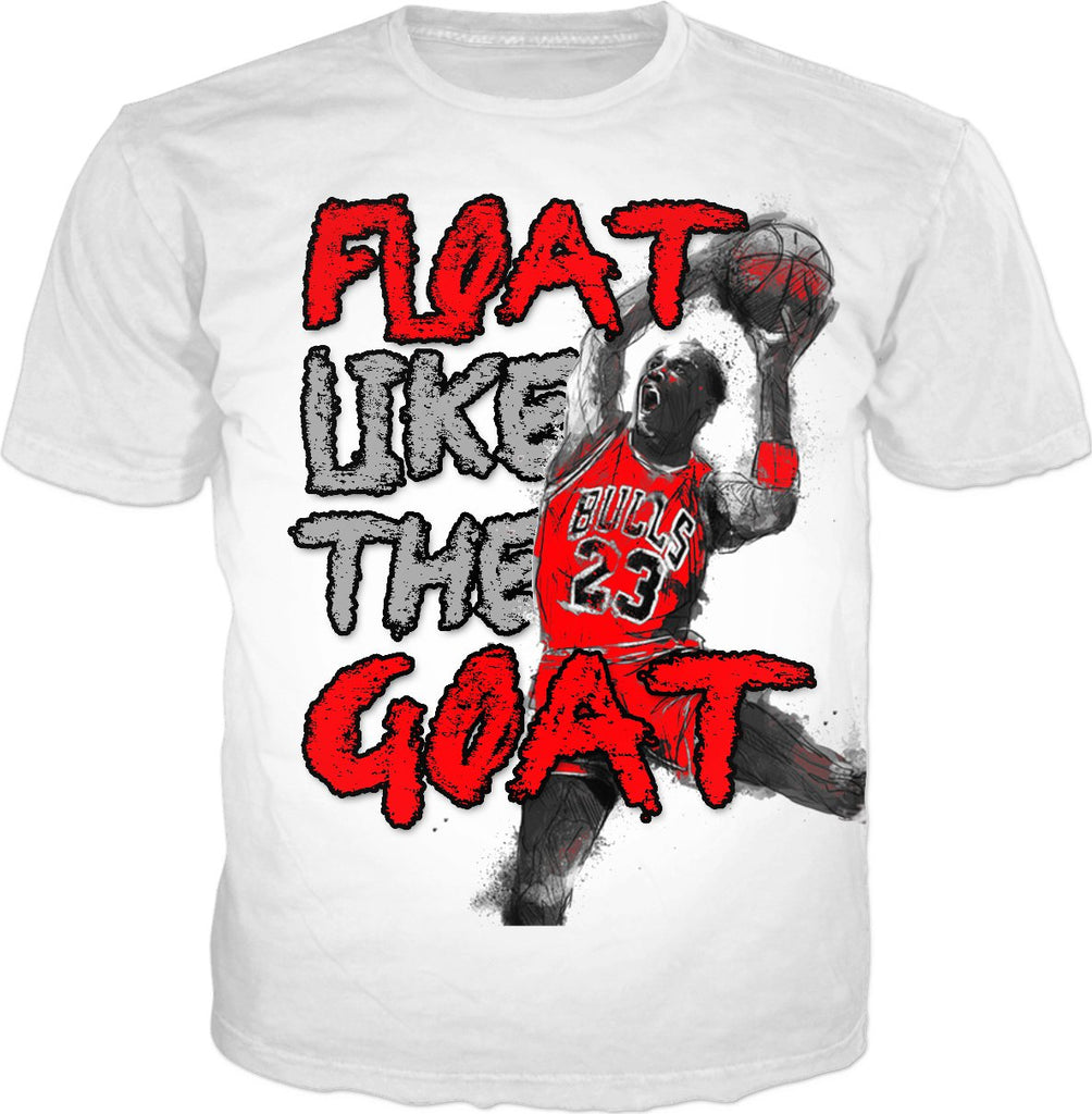 Free Throw Line 3 Float Like the Goat