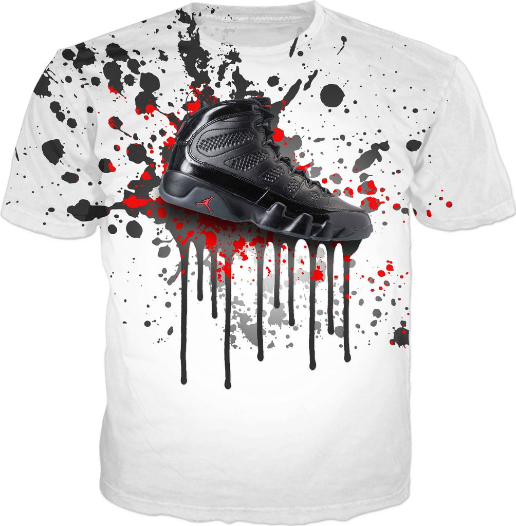Bred 9 Shoe Splatter