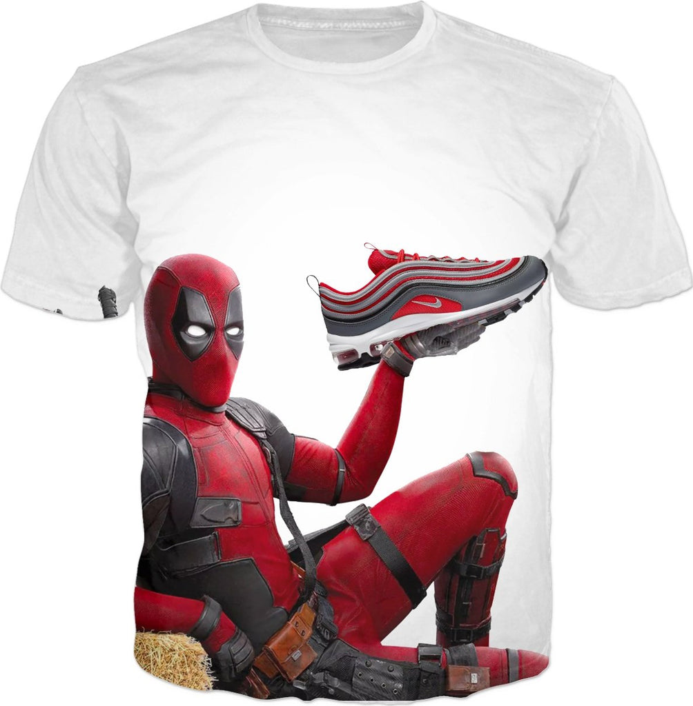 Airmax Red Grey Deadpool