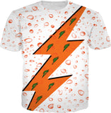 Gatorade 6 Orange Bolt Drop TEE SX