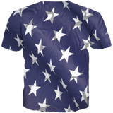 USA 3 Gambino Flag All Over Tee