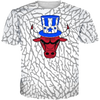 USA 3 Patriot Bull All Over Tee