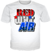 USA 3 Red Wht Air Tee