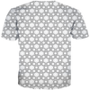 USA 3 Stars Pattern All Over Tee