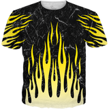 Air Max Frequency Flames ALL OVER TEE