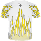 Air Max Frequency Flames WHITE TEE