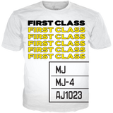 Barcode 1 First Class WHITE TEE